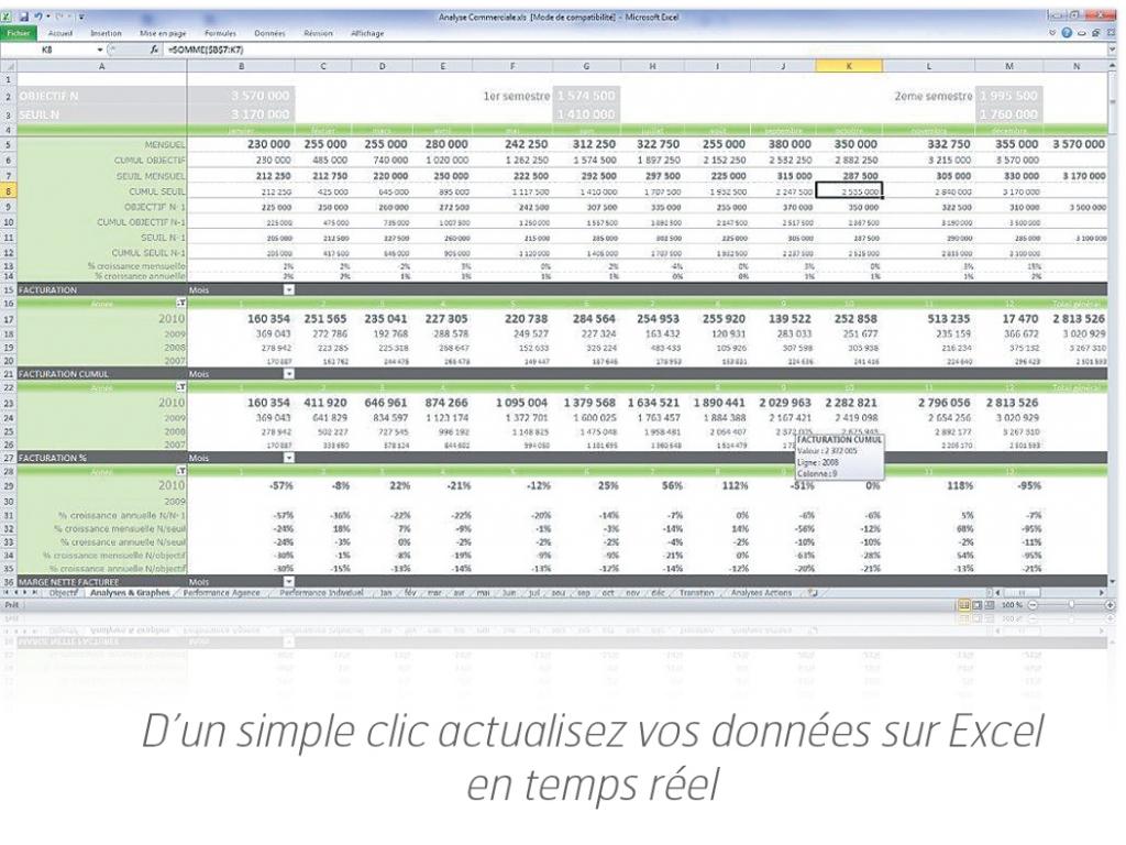 Excel et GRCcom