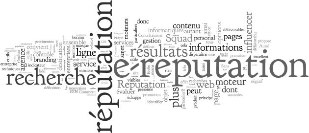 Mots-clés e-réputation