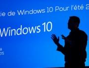 Sortie de Windows 10 pour l'été 2015