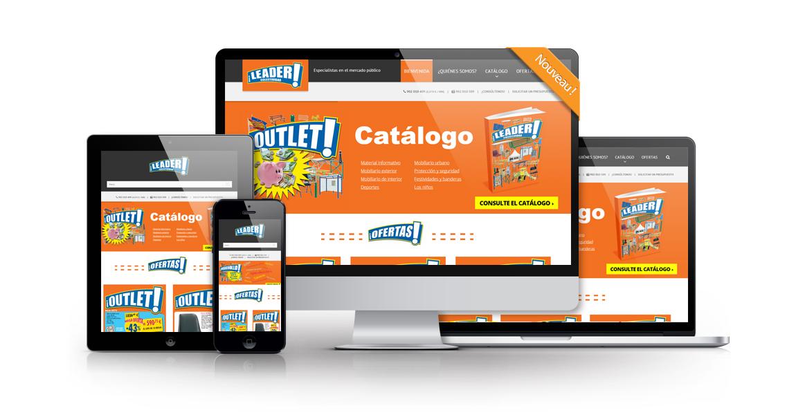 Site responsive eContenu Megachollo
