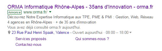 Agence Google Adwords Valence